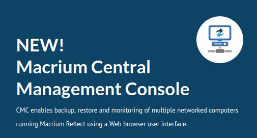 Macrium CMC – Central Management Console