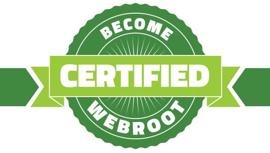 Webroot Partner Zertifizierung