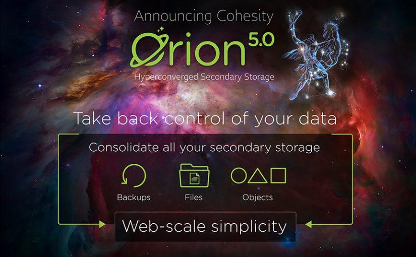 Cohesity – Die erste Storage-Plattform, die Datensicherung und Big-Data-Silos in einer grenzenlos skalierbaren Infrastruktur vereint