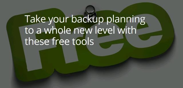 Kostenlose Tools für das Planen von Backups